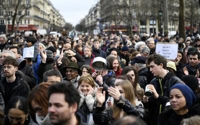 Protest gegen Bahnreformen in Frankreich