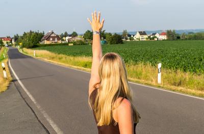 Anhalter in Frankreich Autostop-Citoyen