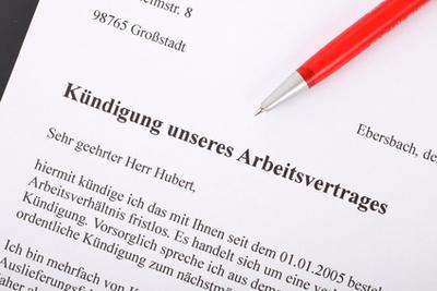 Le délai de préavis de licenciement en Allemagne