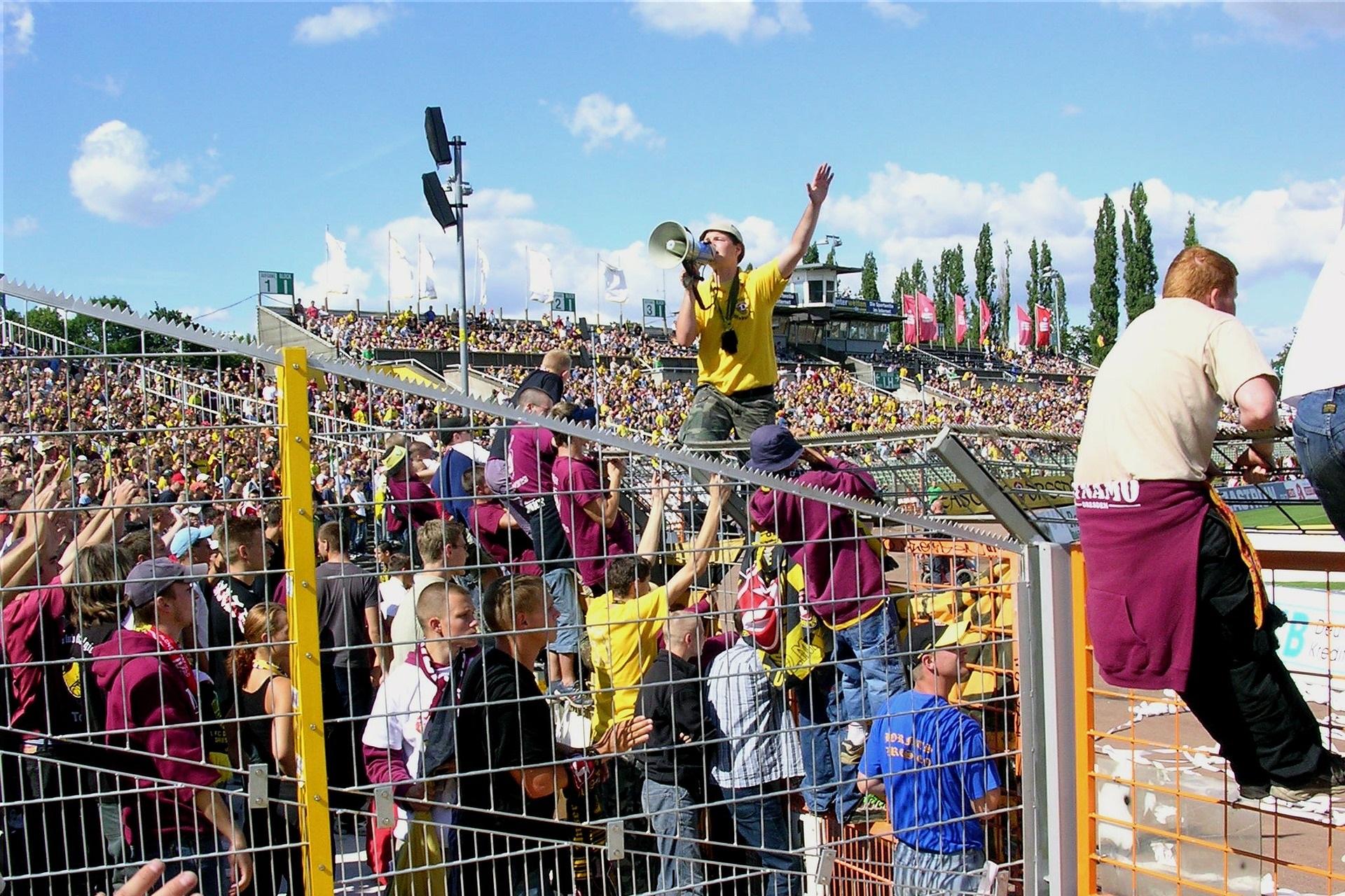 Fans de Dynamo Dresden